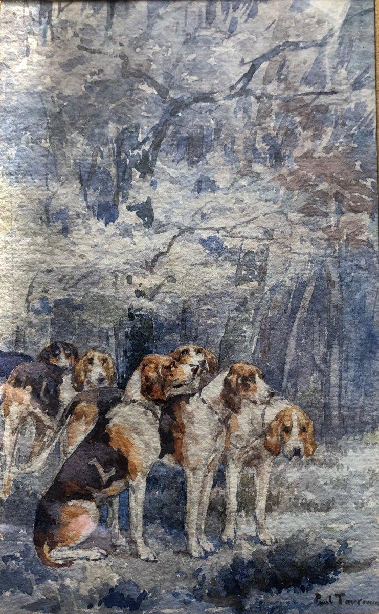 Paul Tavernier, Relais De Chiens De chasse, Équipage Lebaudy à Fontainebleau