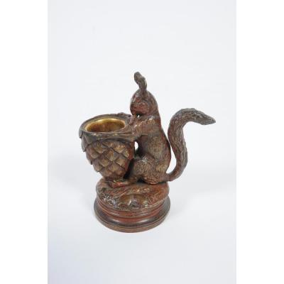 Jules Moignez Bronze Squirrel
