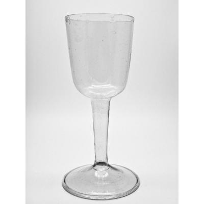 Large Bottomless Glass With Hollow Leg Glassware Ruined 18th Century Period