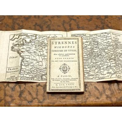 Etrennes Mignones Curieuses Et Utiles 1775