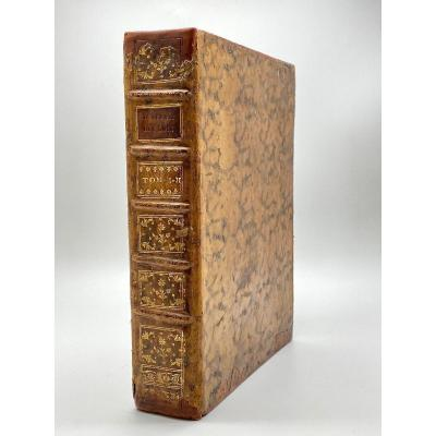 De l'Esprit Des Loix By Montesquieu Barillot & Sons In Geneva 2 Volumes In 1 Vol. In-4° 1749