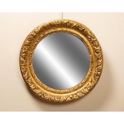 Miroir Rond XVIIIème Siècle