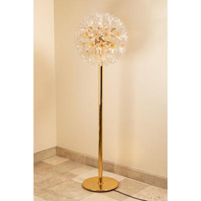 Lampe Fleur 1960, Murano Par Paolo Venini Pour Veart