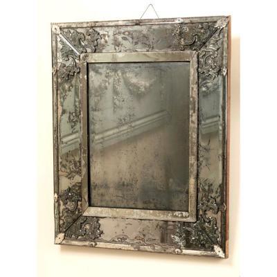 Miroir De Forme Rectangulaire Début Du XVIIIe Siècle
