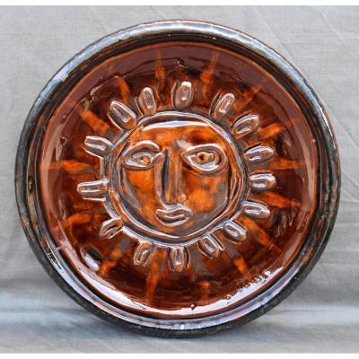 Flat Ceramic Email St Paul Emaux Giraud Vallauris Sign Borsi