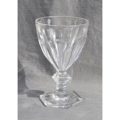 Champagne Water Glass In Baccarat Crystal Harcourt Model