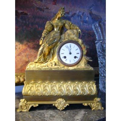 Pendulum Bronze Dore Restoration