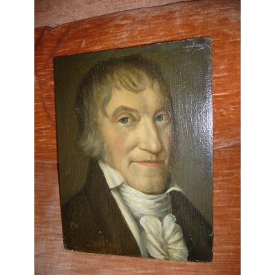 Ecole Française Du XVIII° Portrait D Homme