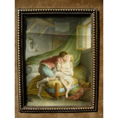 XVIIIth Erotic Miniature
