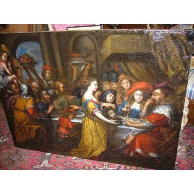 Le Festin D Hérode D Après Rubens