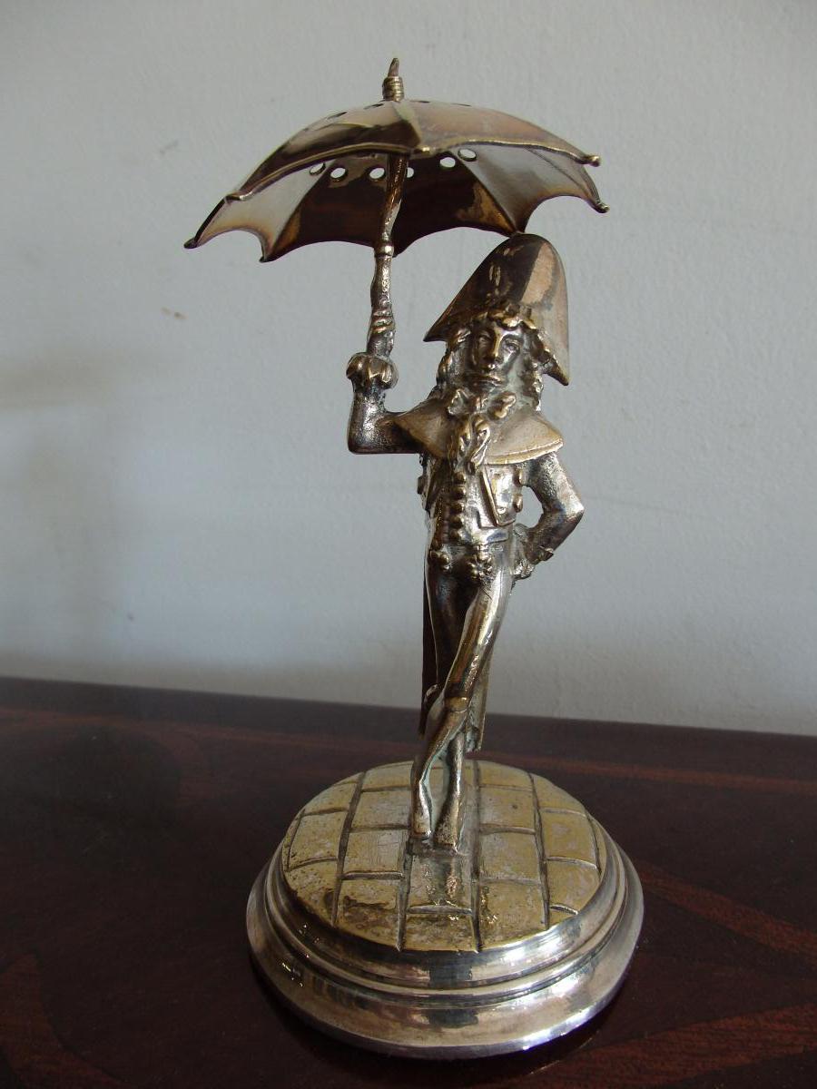Incroyable En Bronze Argenté