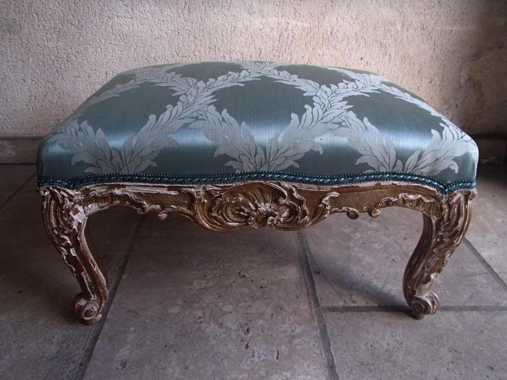 Tabouret Louis XV époque 19ème