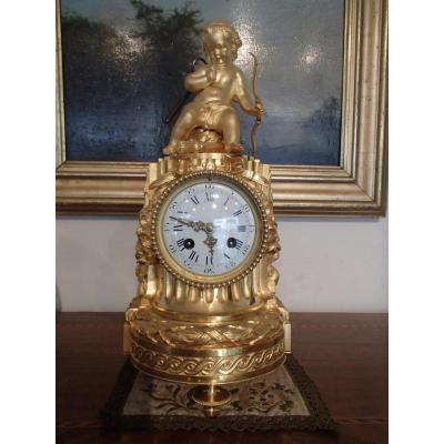 Pendule Borne De Style Louis XVI