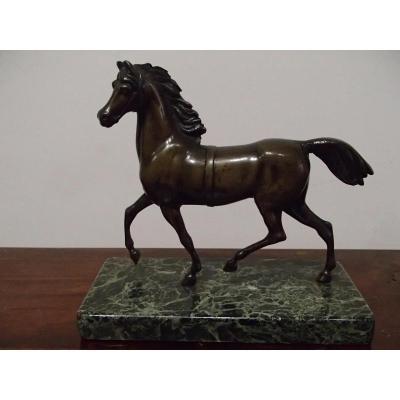 Cheval En Bronze d'époque 19ème