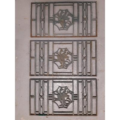 Art Deco Door Grills