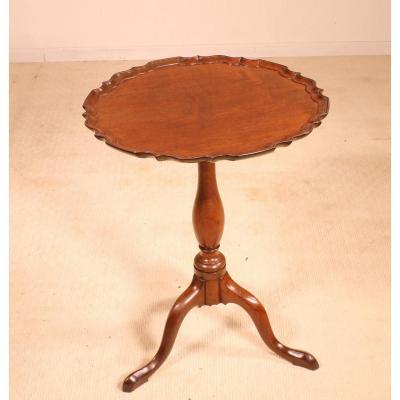 Petite Table Tripode En Acajou Début 19 ° Siècle