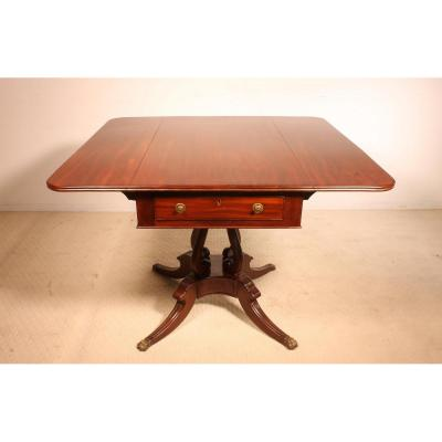 Table Anglaise Regency En Acajou