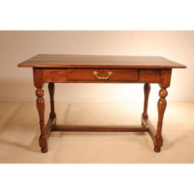 19th Century French Turned Feet Desk