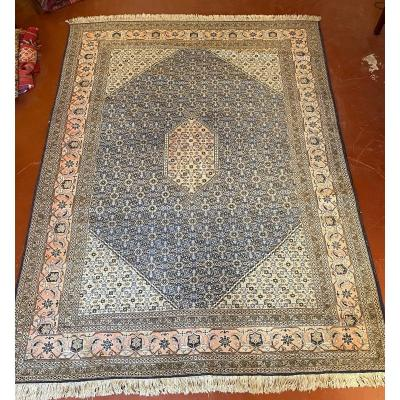 Persian Rug 3m37-2m34 With Blue Decor