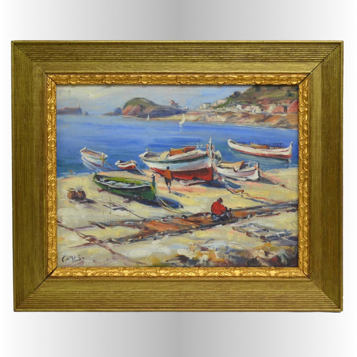 Port de pêche en Espagne par José Camps Gordon