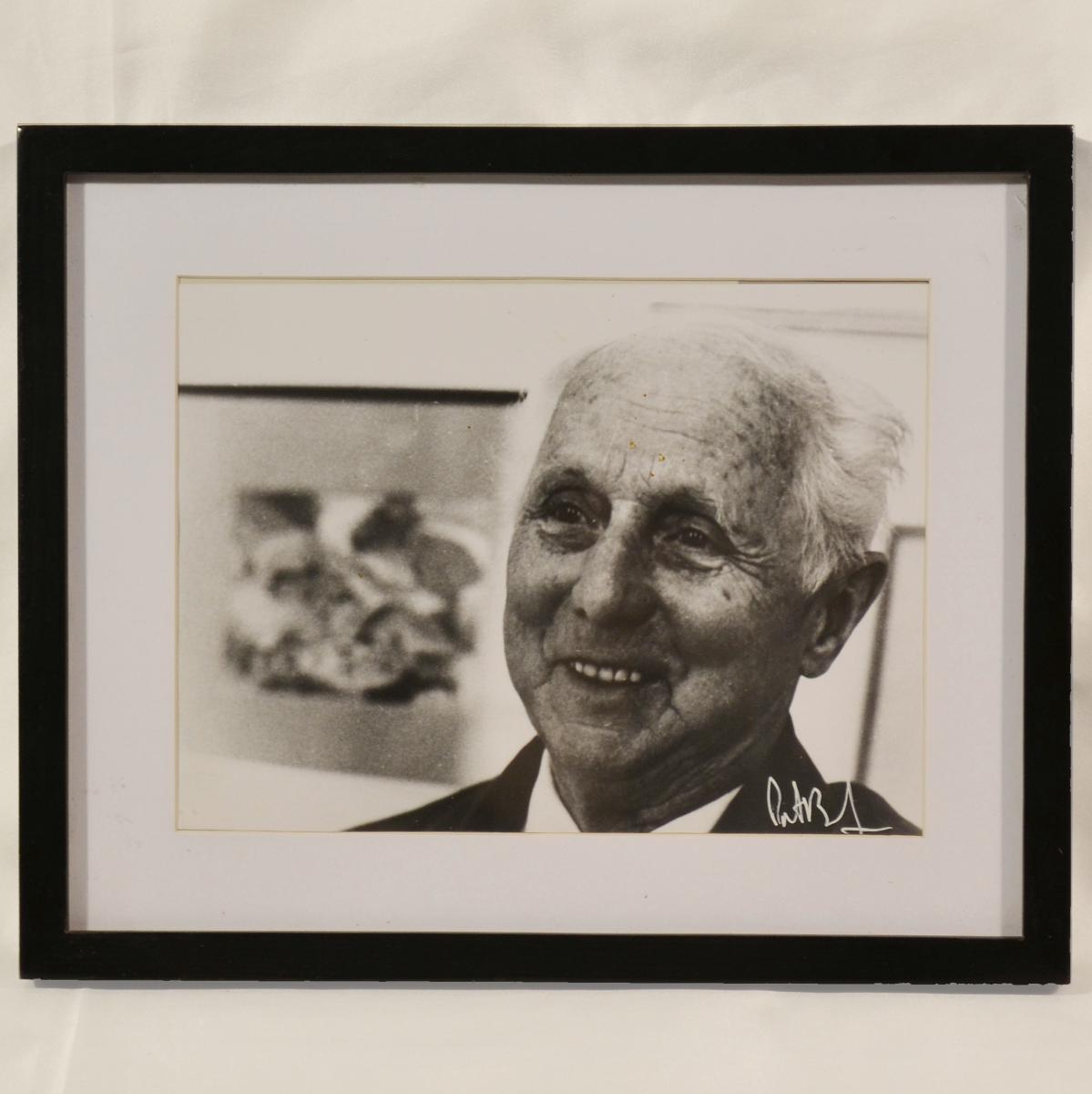 Max Ernst 1971 Tirage Argentique Signé Patrick Bertrand