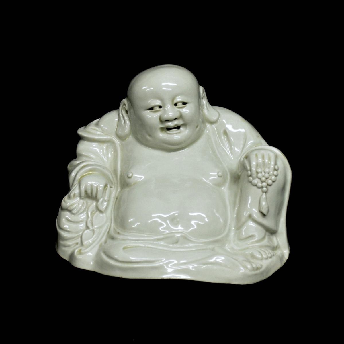 Statuette de Budai en Porcelaine XIXè