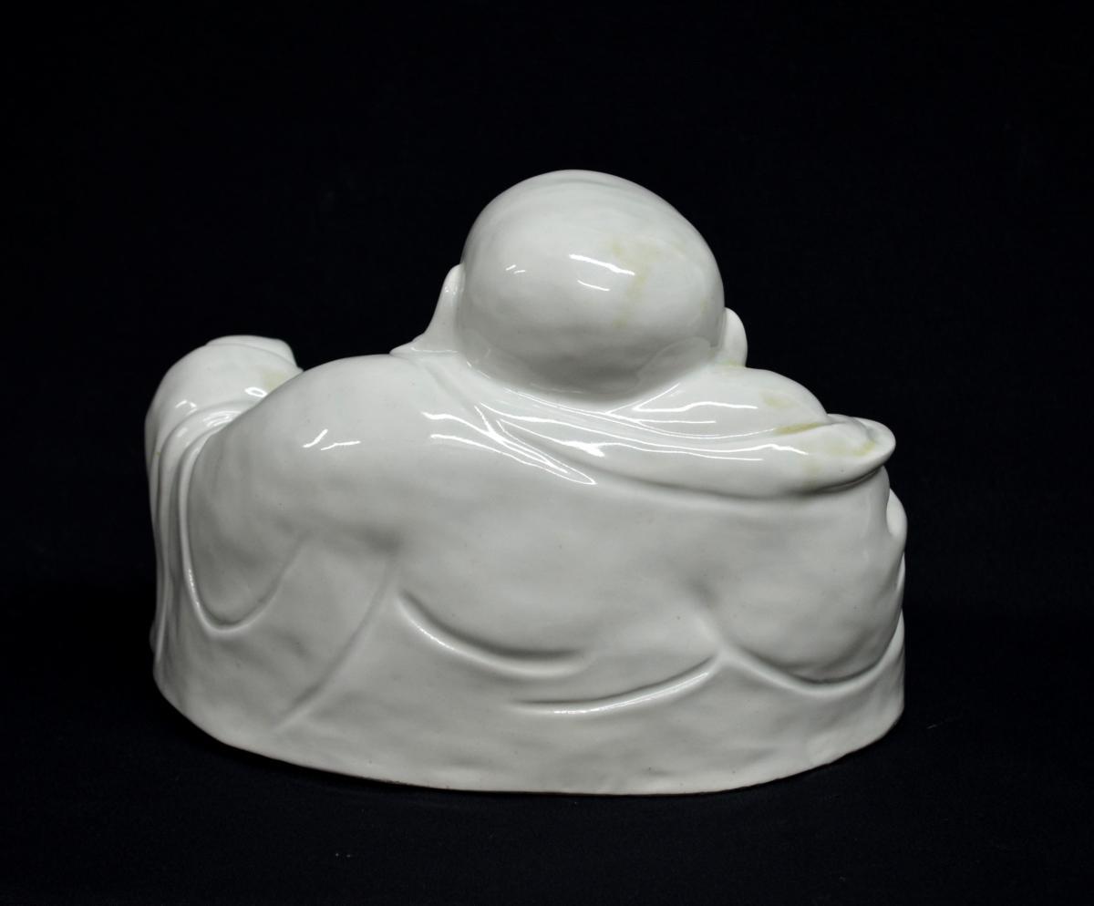Statuette de Budai en Porcelaine XIXè -photo-3