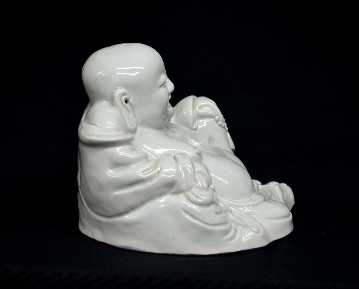 Statuette de Budai en Porcelaine XIXè -photo-4