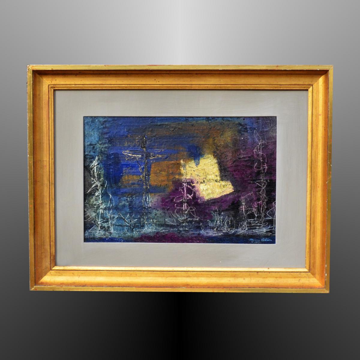 """""""flagellates"""" By Minna Citron 1951"""