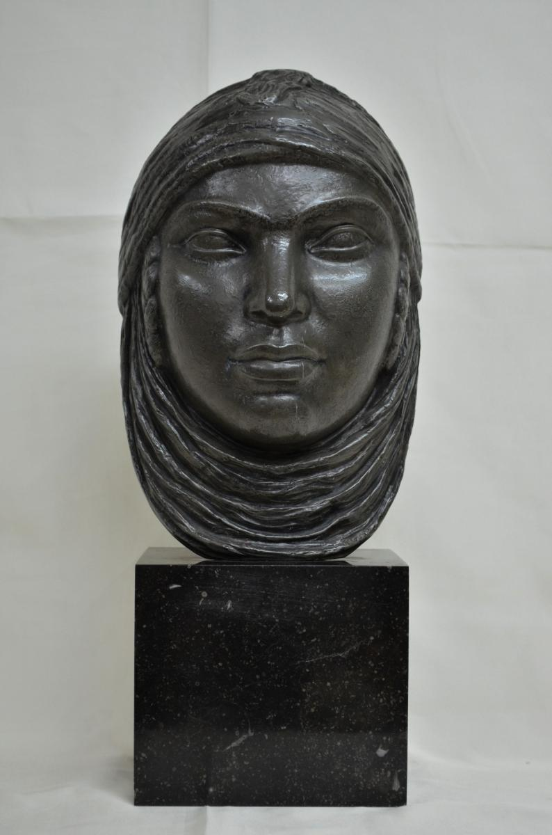 Mask Orientalist Signed Lucien Gibert