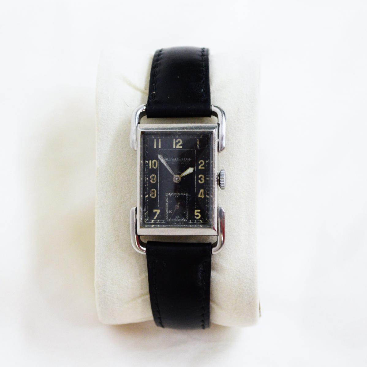 Jaeger Lecoultre Model Etrier Curvex Circa 1930 Watch