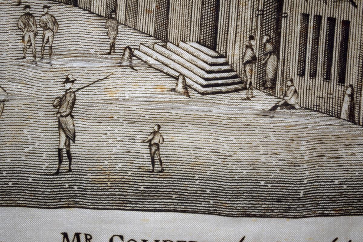 Mouchoir Centenaire De 1789 Reconstitution De La Bastille Et De La Rue Saint-antoine-photo-4
