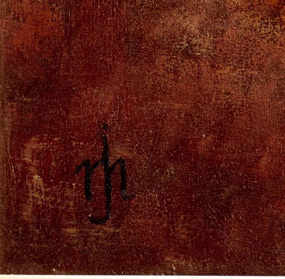 l'heure du thé Grande peinture orientaliste -photo-4