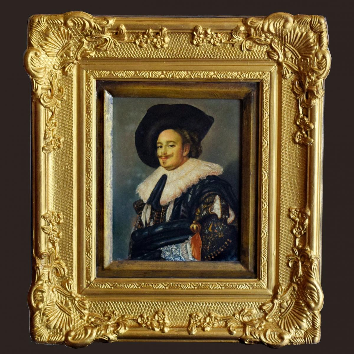 Portrait de gentilhomme à la fraise Mousquetaire