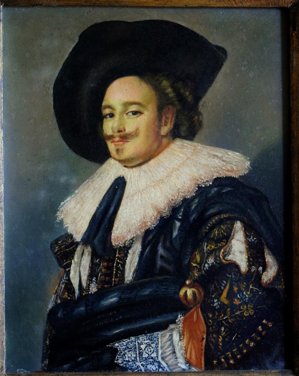 Portrait de gentilhomme à la fraise Mousquetaire -photo-3