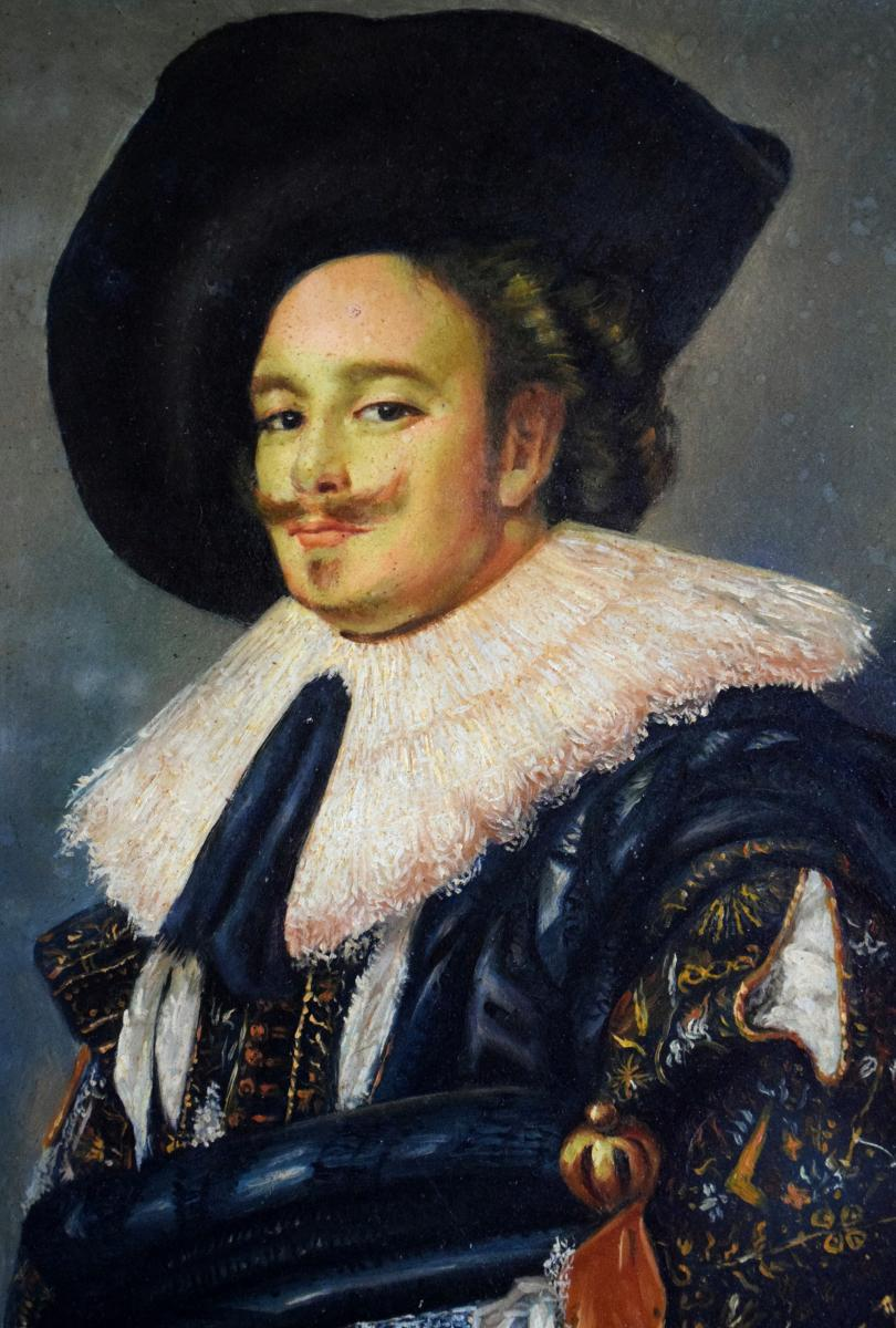 Portrait de gentilhomme à la fraise Mousquetaire -photo-4