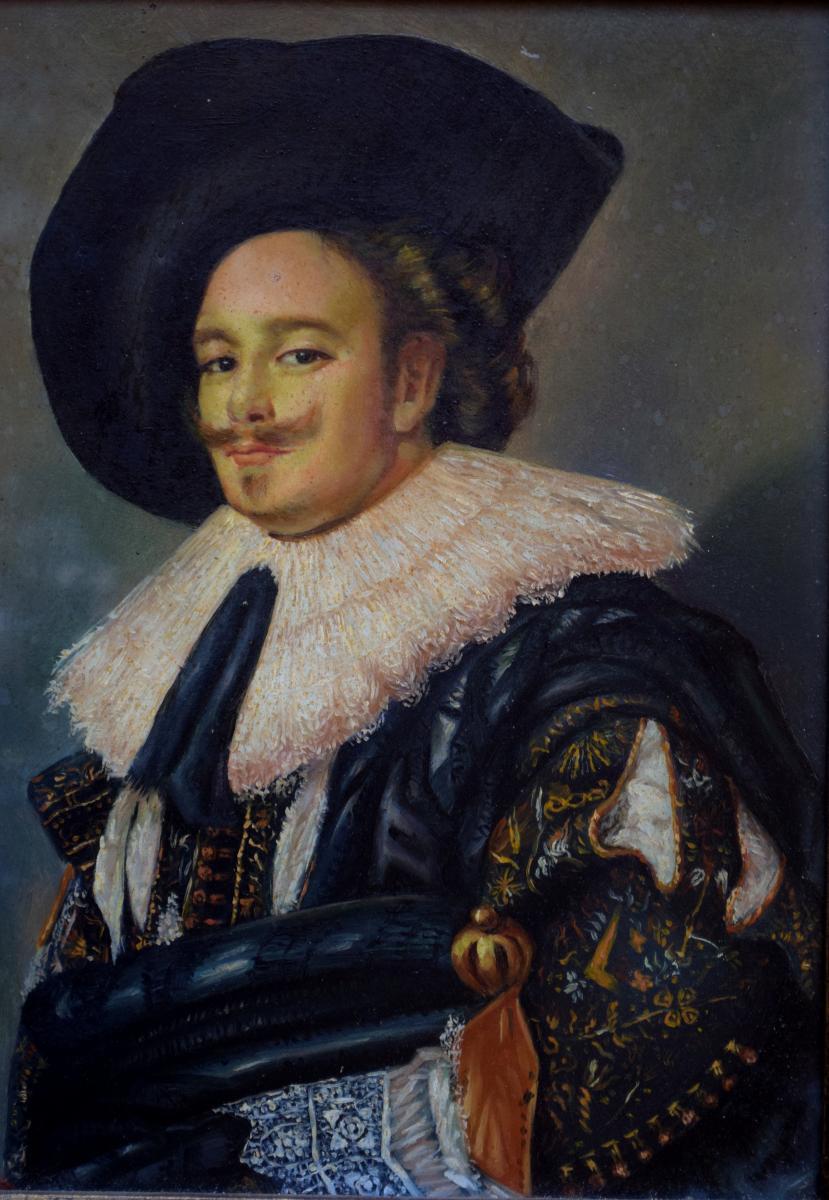 Portrait de gentilhomme à la fraise Mousquetaire -photo-1