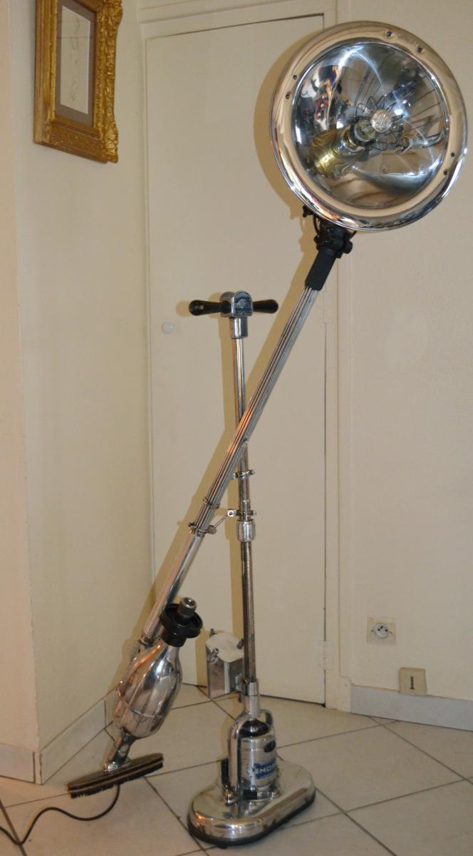"Lampe Moderniste ""calmortorn""-photo-3"