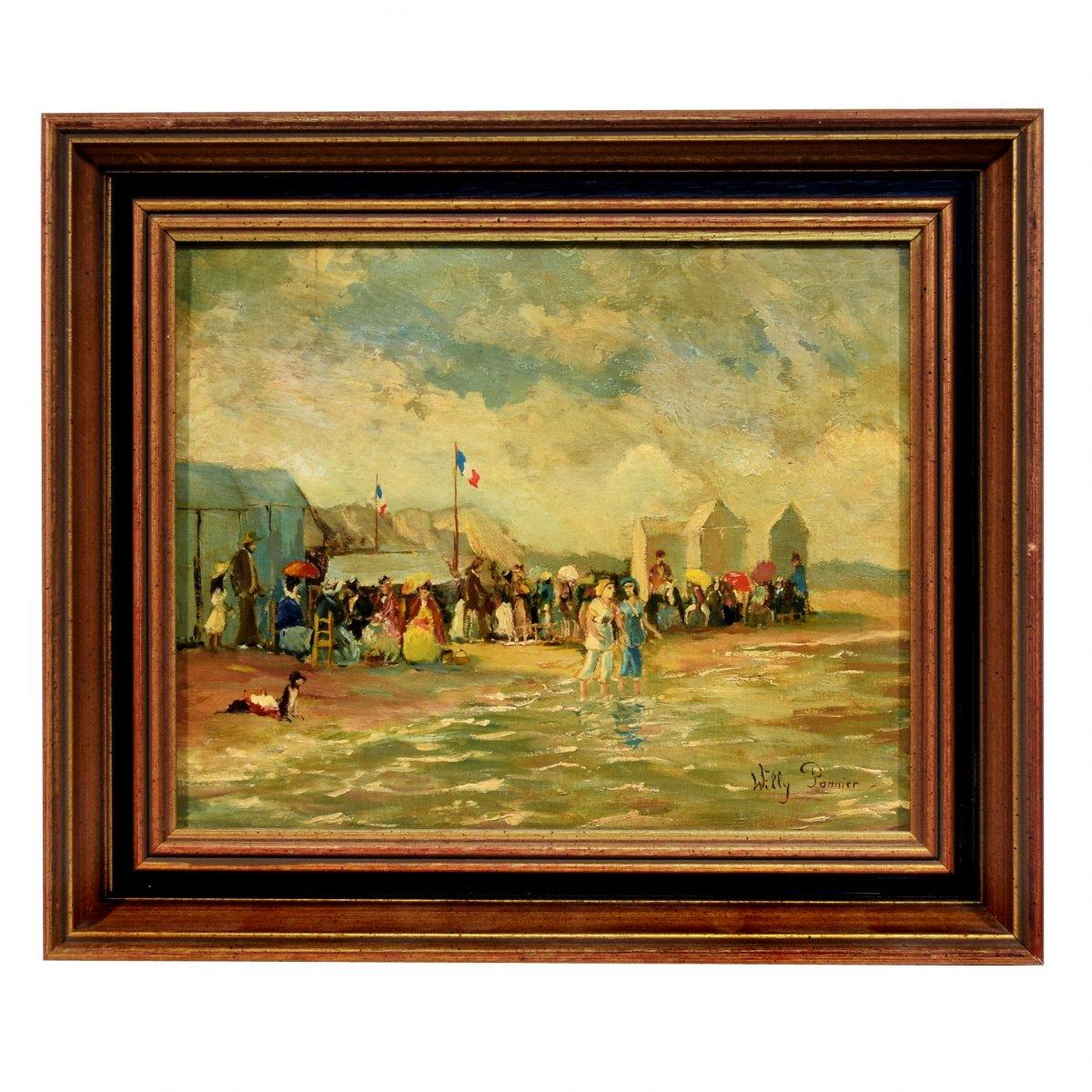 Dimanche à la plage par Willy Pannier