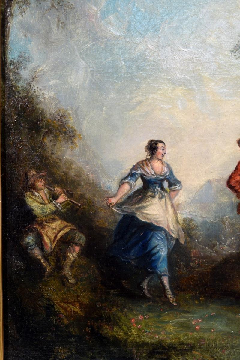 Paire de Scènes galantes XIXème-photo-7