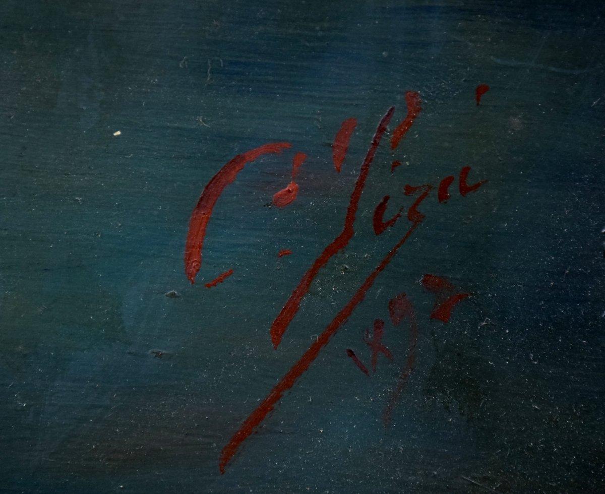 L'Atelier du peintre Par Cristobal Piza-Ensenyat -photo-3