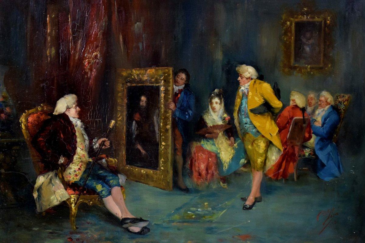 L'Atelier du peintre Par Cristobal Piza-Ensenyat -photo-4