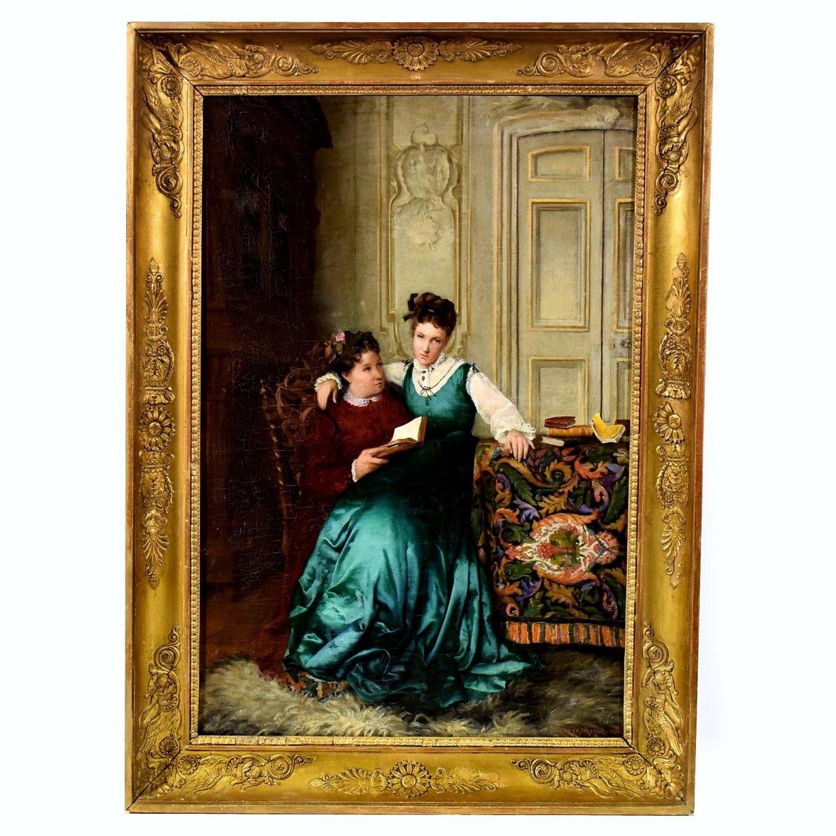 """""""Mélancolie"""" par Lazar Meyer 1873"""
