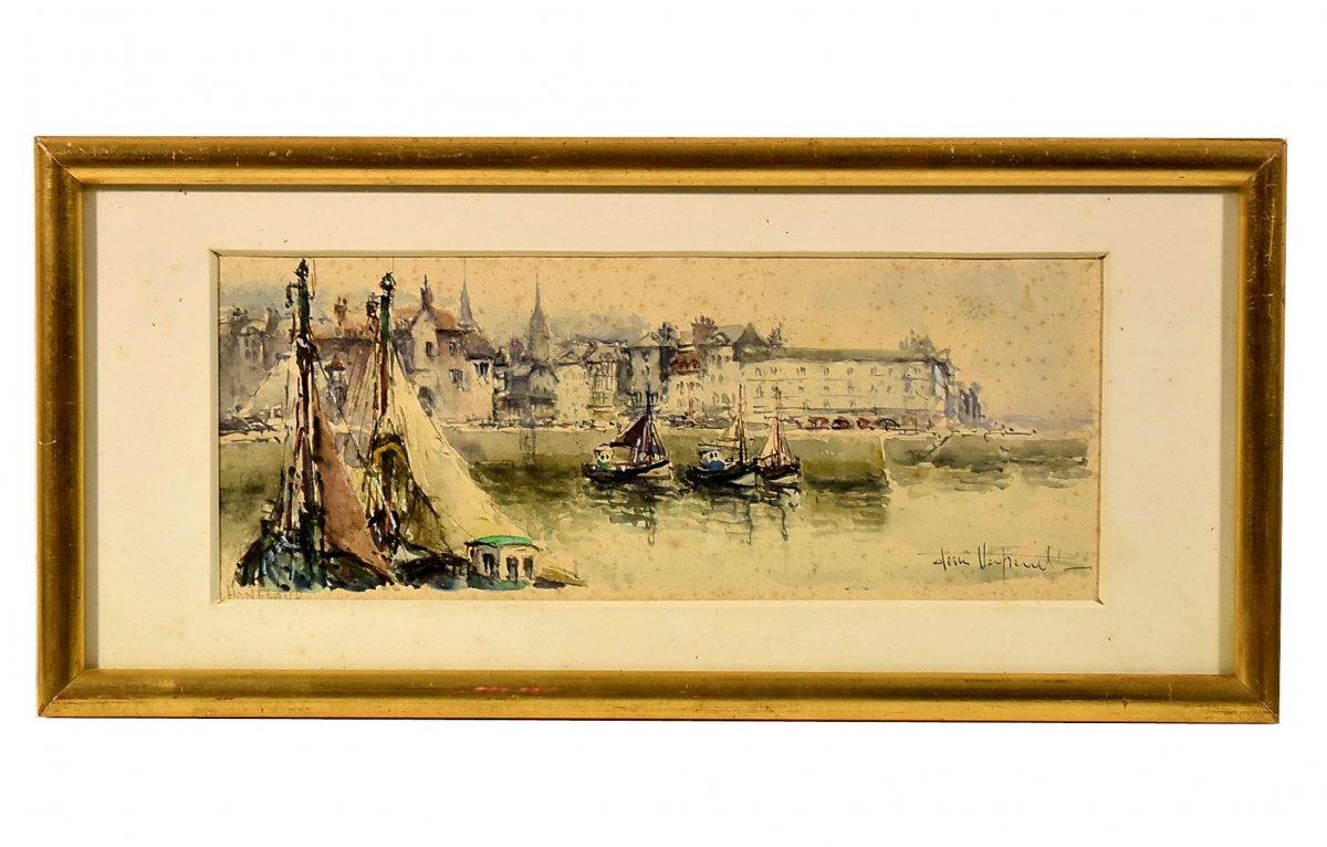 Honfleur Le port La Lieutenance par Denis Verspecht