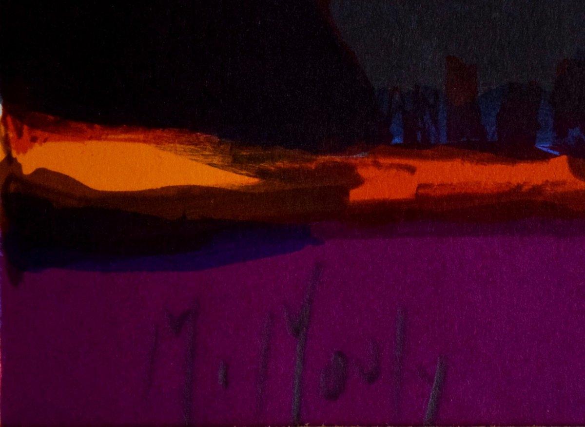 Marcel Mouly Lithographie originale signée Scène de souk-photo-2