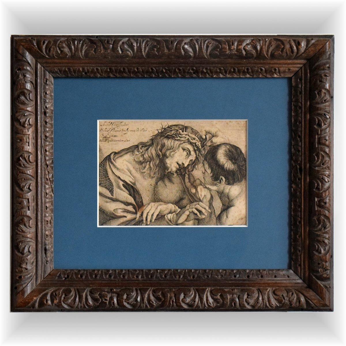 """le Christ Moqué"" 1627 By Sebastiano Vaiani"