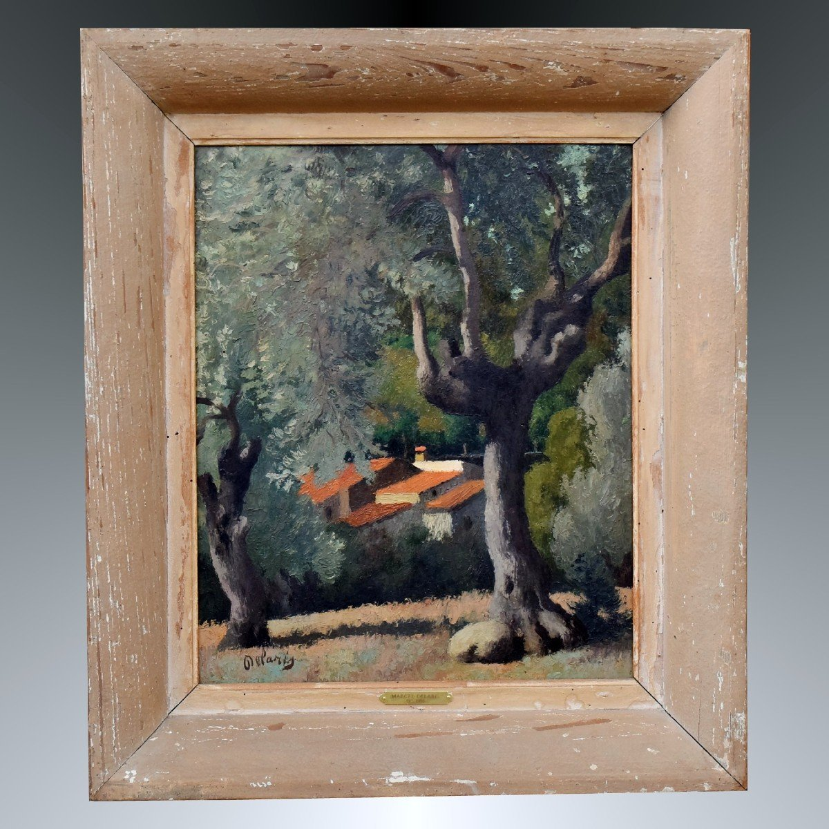 Mas dans le Roussillon par Marcel Delaris Peinture cubiste