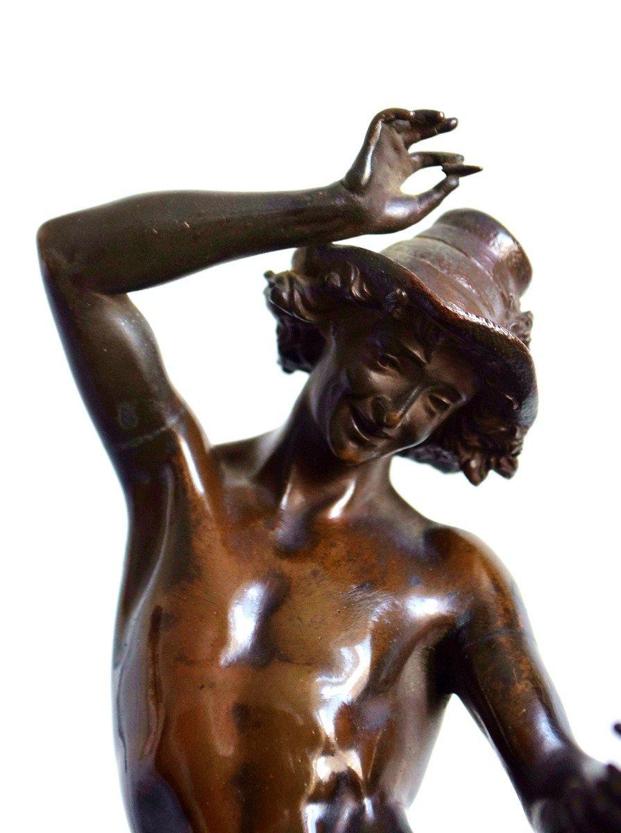 Le musicien florentin Bronze par Carrier-Belleuse-photo-4