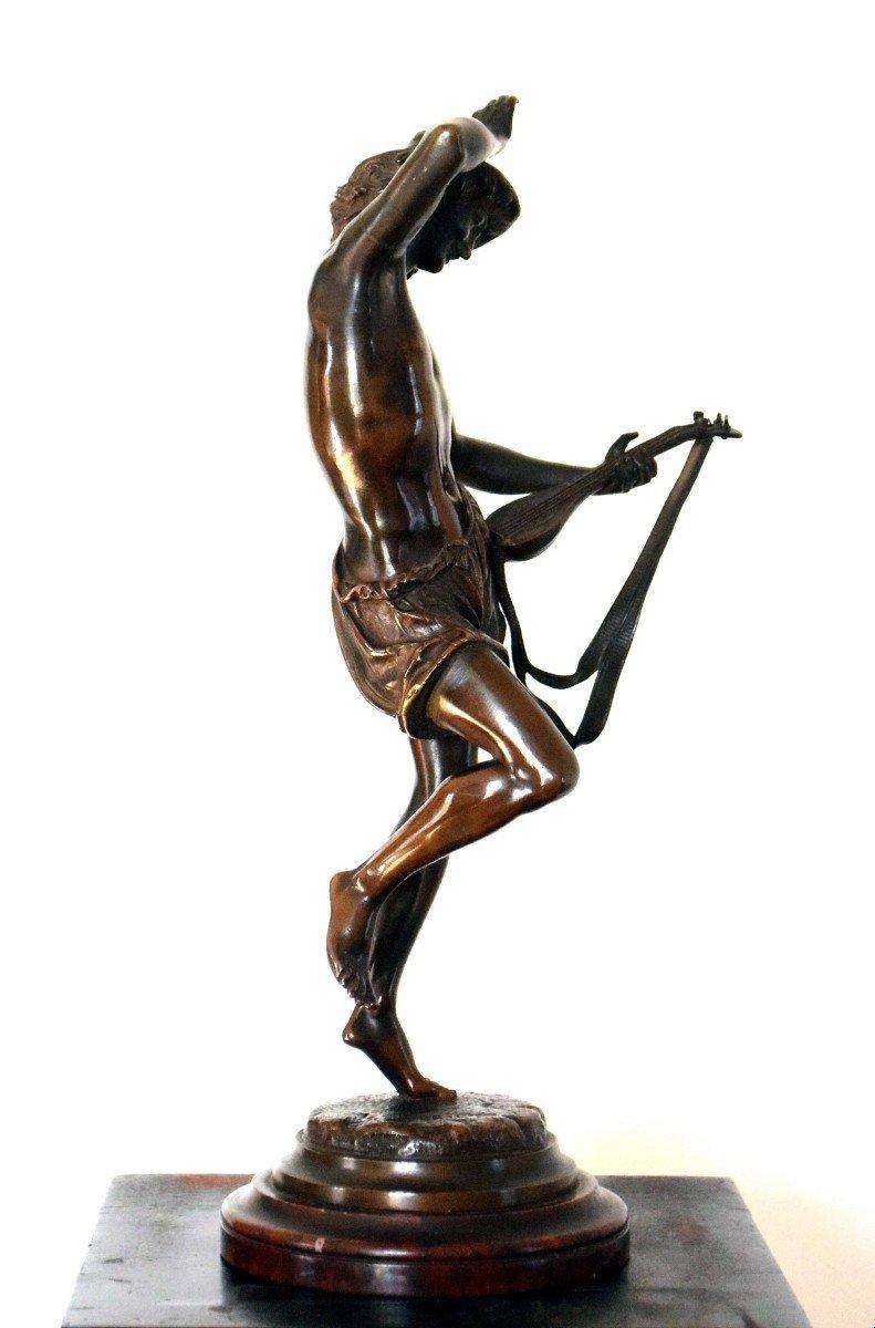 Le musicien florentin Bronze par Carrier-Belleuse-photo-2