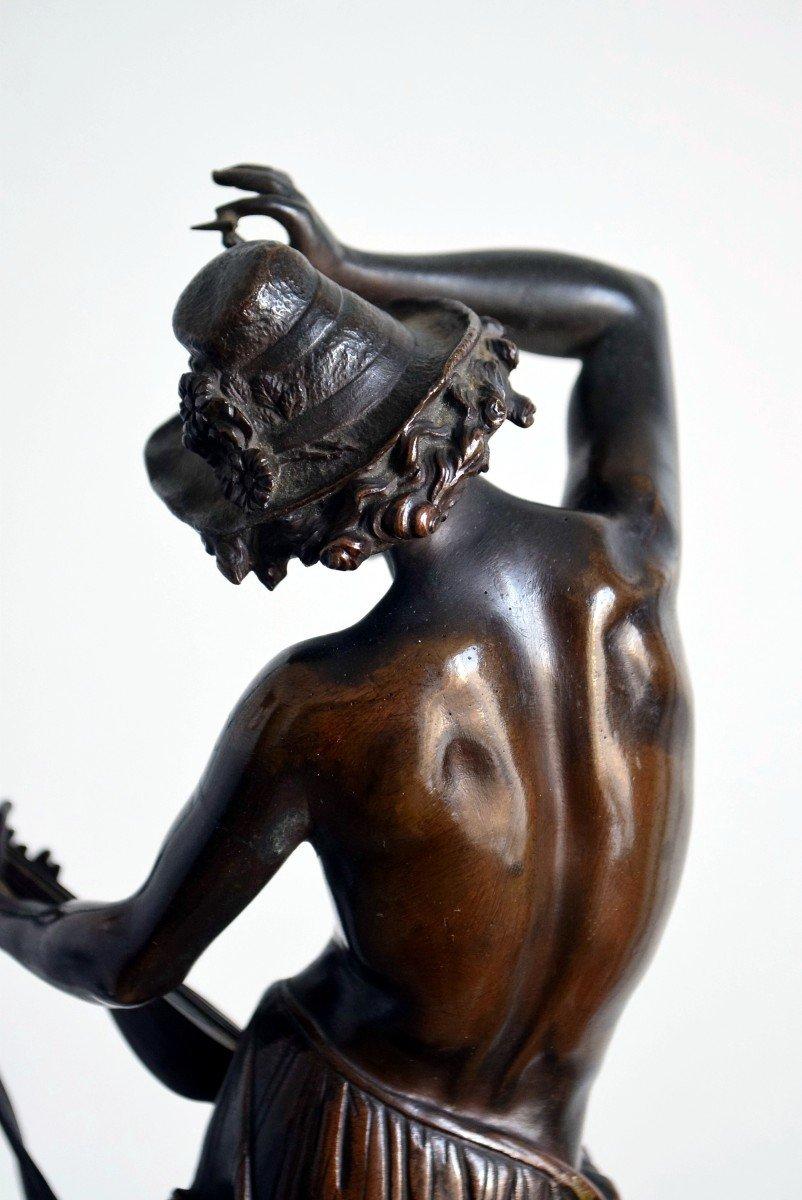 Le musicien florentin Bronze par Carrier-Belleuse-photo-5